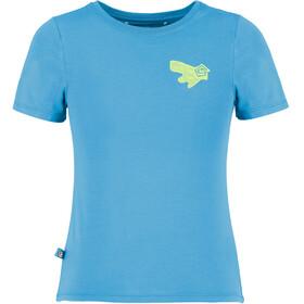 E9 B One T-Shirt Kids cyan
